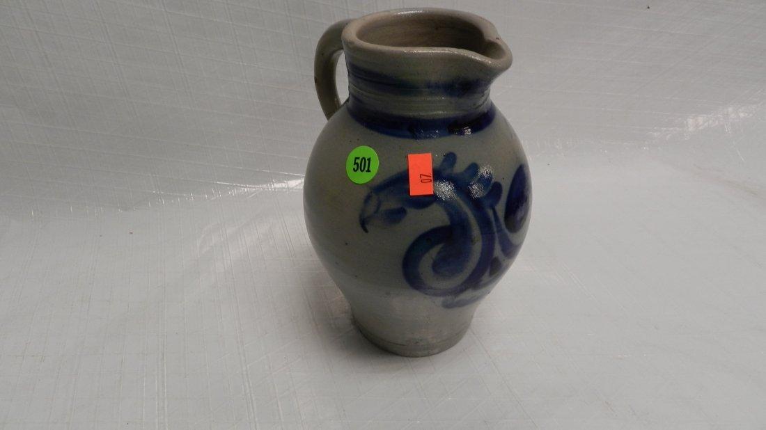 501: cobalt German pitcher