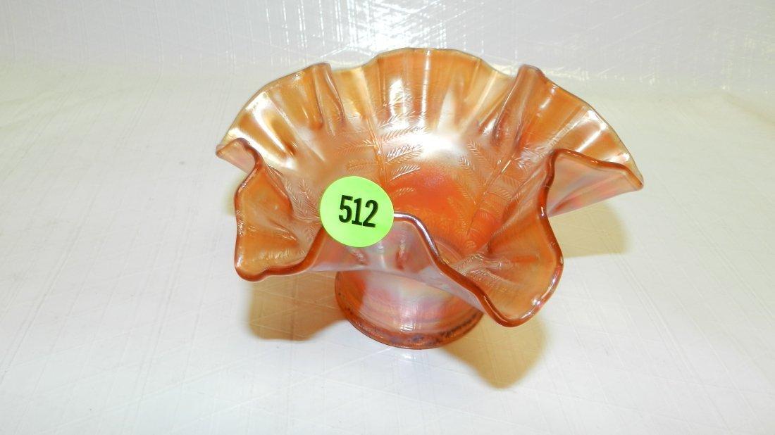 512: carnival glass bowl / vase