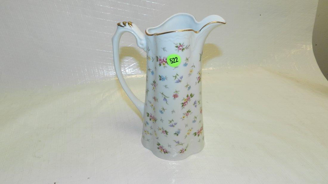522: porcelain pitcher