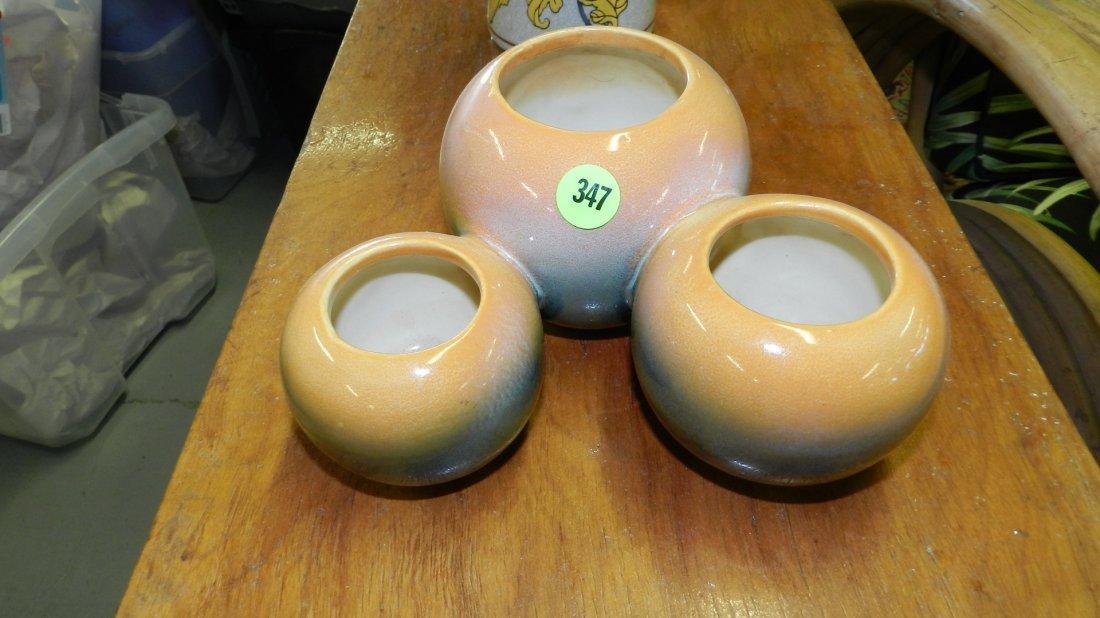 347: mid century Hull vase