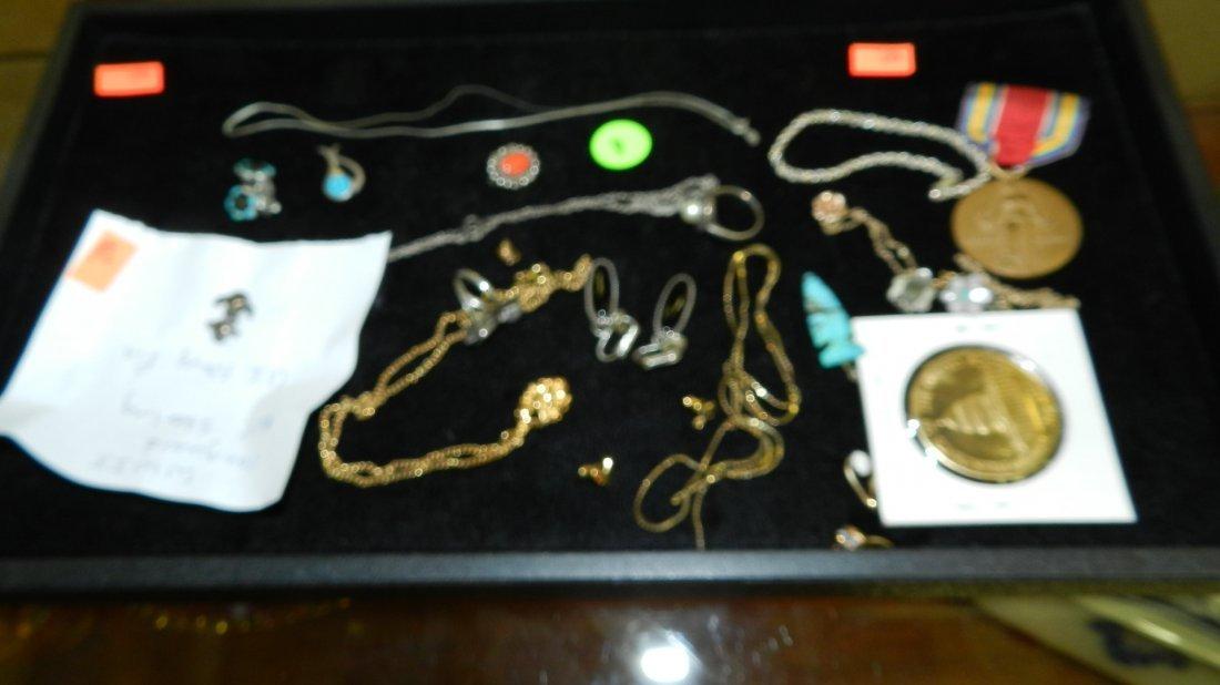 4: tray of estate jewelry (no tray)