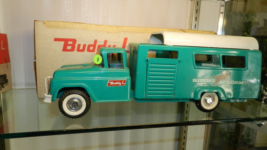 5: nice near mint Buddy L toy ranch truck in original b