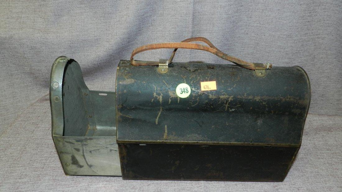 348: metal lunch box