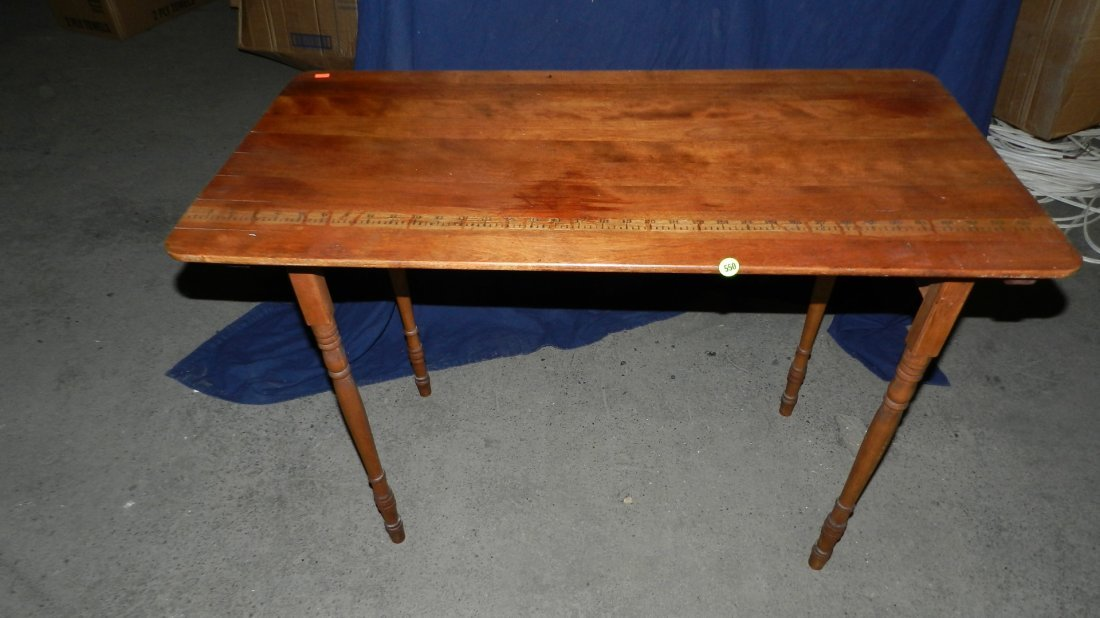 550: nice vintage folding sewing table SSR