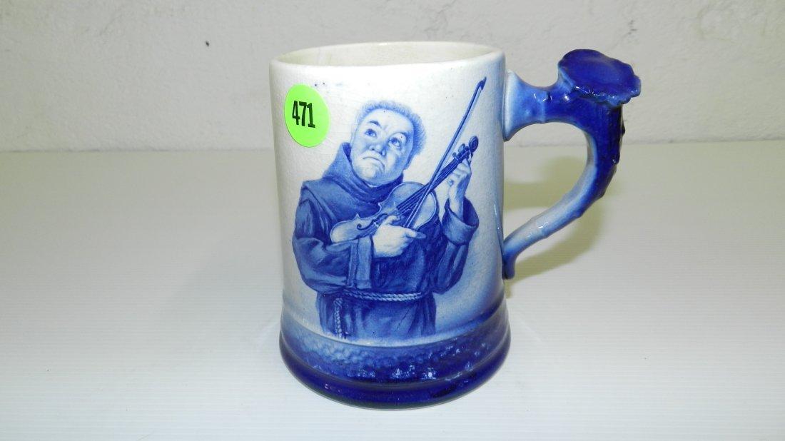 471: Blue Delft Beer Stein
