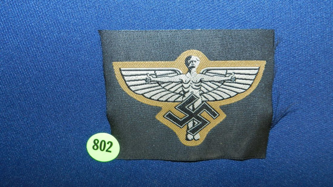 802: WWII Nazi German patch