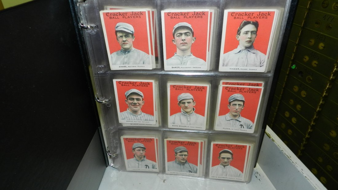 WOW unbelievable 1915 cracker jack baseball cards 176