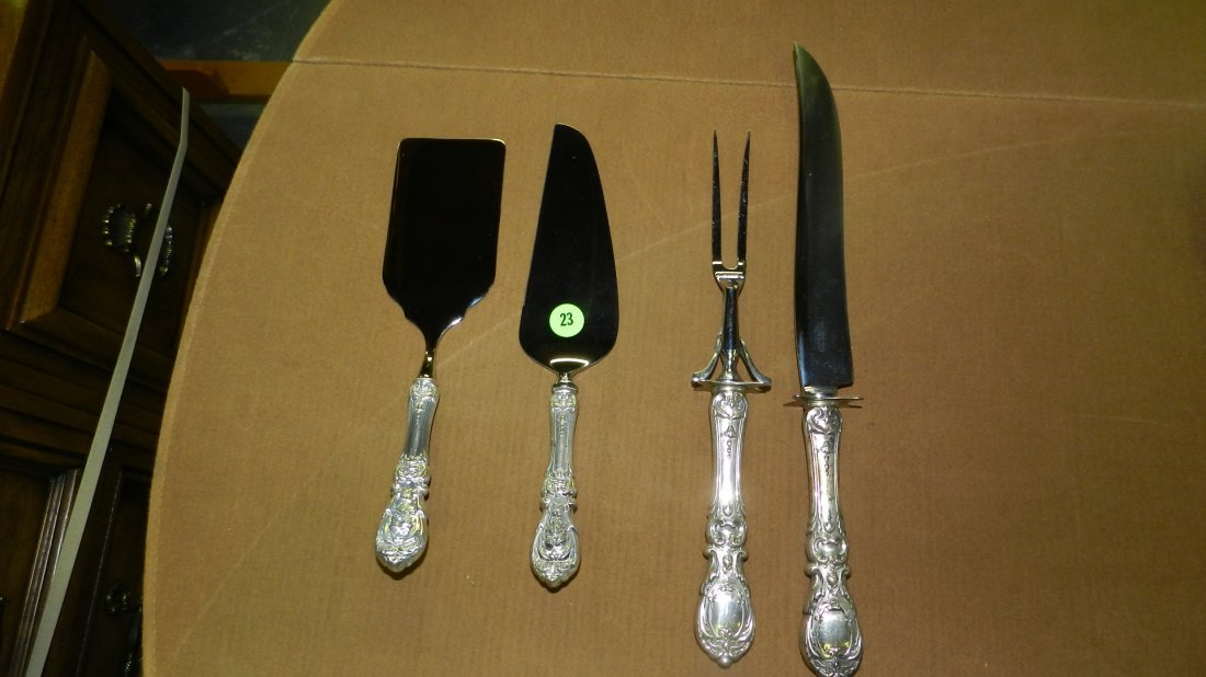 Monumental Reed and Barton Francis I sterling flatware