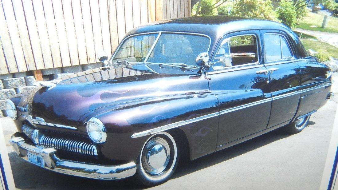 OUTSTANDING 1950 MERCURY 4 DOOR SPORT SEDAN WITH A