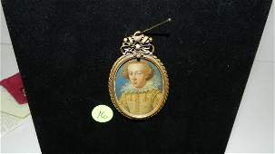 6) Exceptional! early 17th century miniature painting