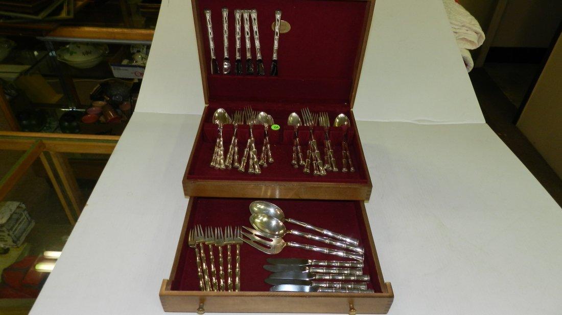 1) Wonderful vintage Sterling silver flatware set, by