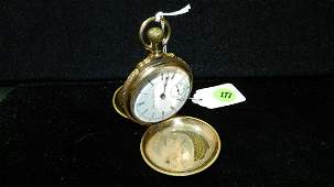 Wonderful antique men's gold plated? / solid gold? unma
