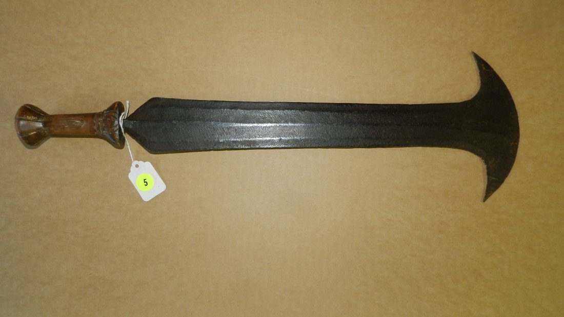 13019) nice African handmade knife, Teke or neighboring