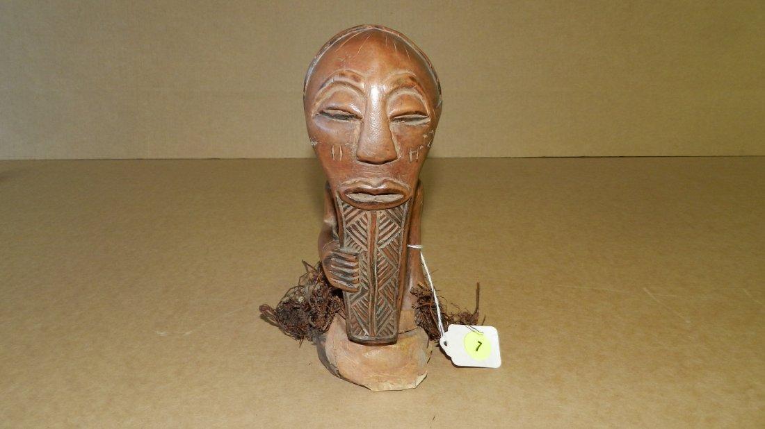 5470) nice African hand carved (Songye)half-figure