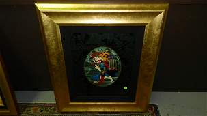 original framed work of art by world renowned artist