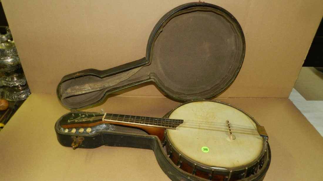 original Vintage S.S.Stewart Mandolin Banjo Banjourine