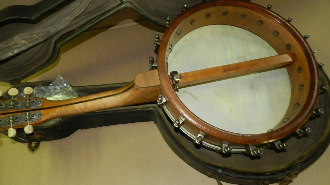 original Vintage S.S.Stewart Mandolin Banjo Banjourine - 4