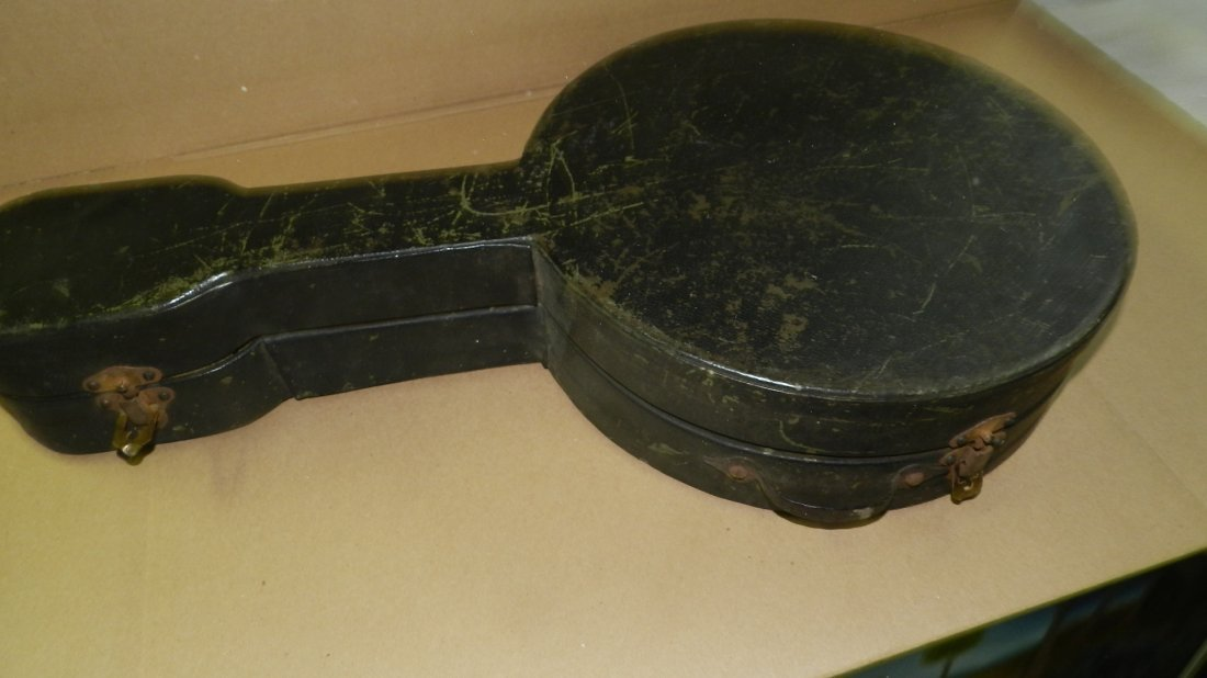 original Vintage S.S.Stewart Mandolin Banjo Banjourine - 7