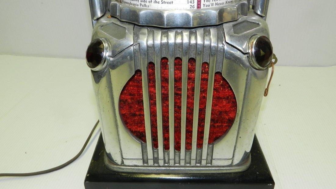 Rare Art Deco Shyvers Multiphone Coin OP Jukebox - 4