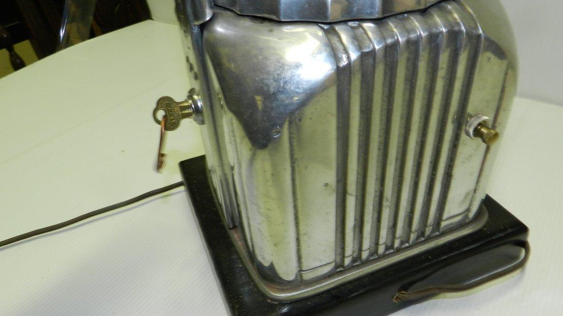 Rare Art Deco Shyvers Multiphone Coin OP Jukebox - 7