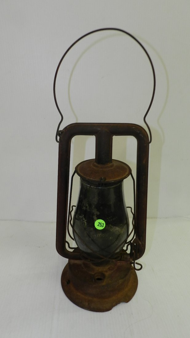 Primitive lantern, as found