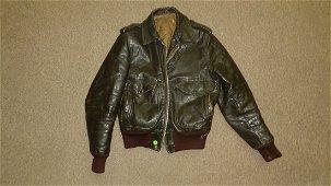 antique / vintage leather motorcycle jacket
