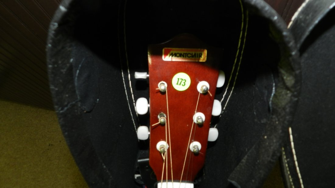 lovely Acoustic guitar by Montclair G 425, cond VG, no - 2