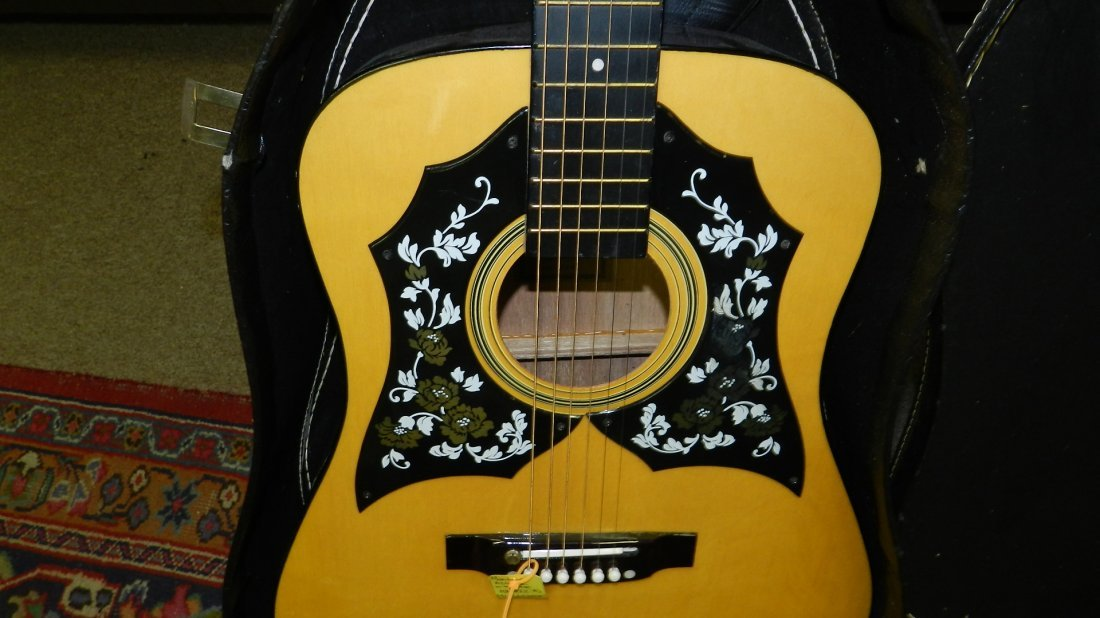 lovely Acoustic guitar by Montclair G 425, cond VG, no - 3