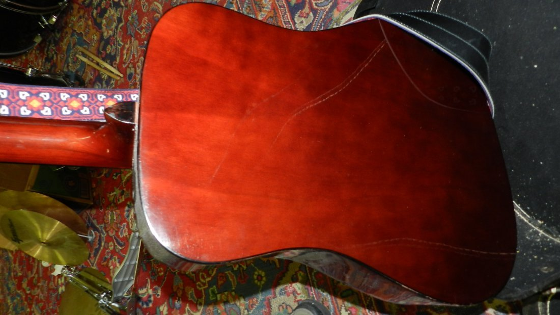 lovely Acoustic guitar by Montclair G 425, cond VG, no - 7