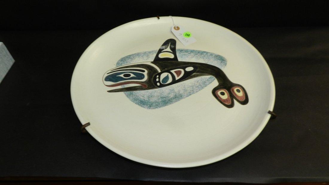 Original 1950's hand painted Native American killer