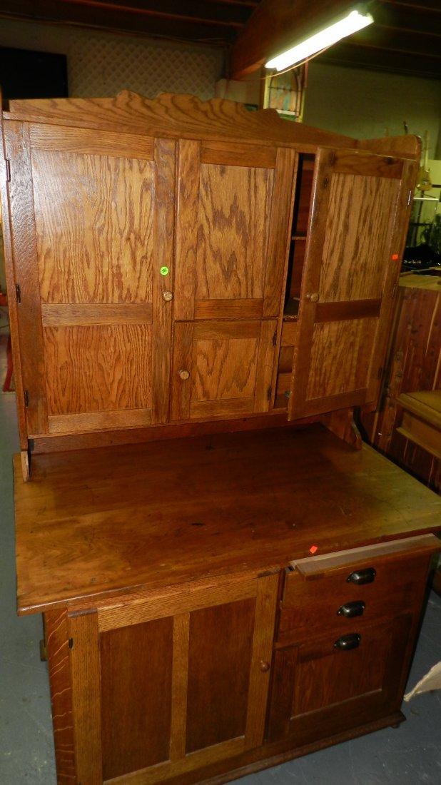 American oak kitchen queen / cabinet, SSR