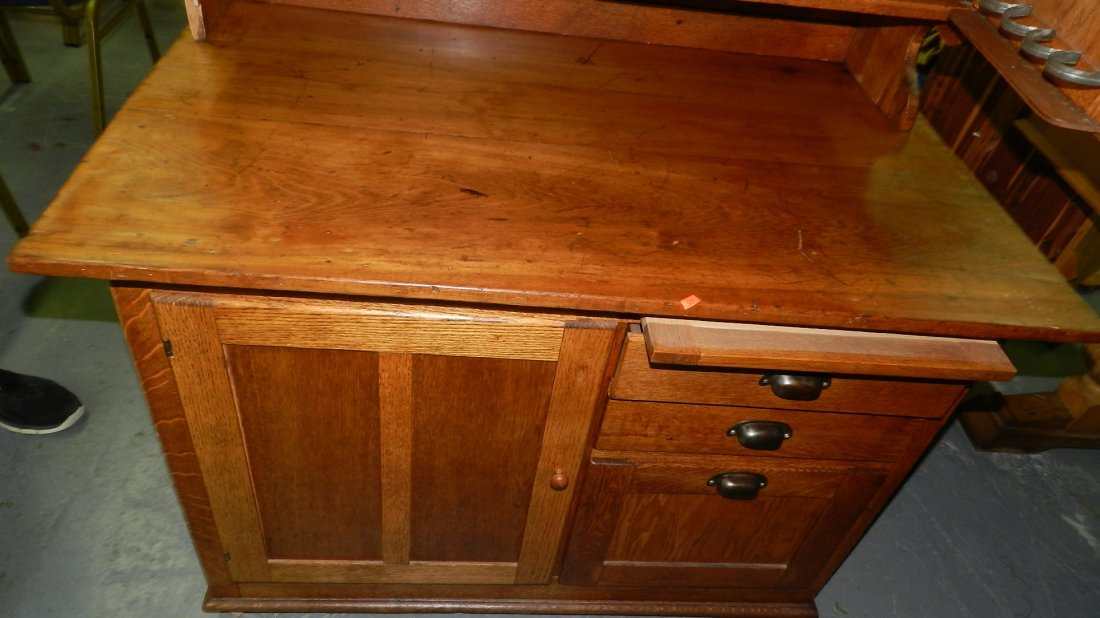 American oak kitchen queen / cabinet, SSR - 2