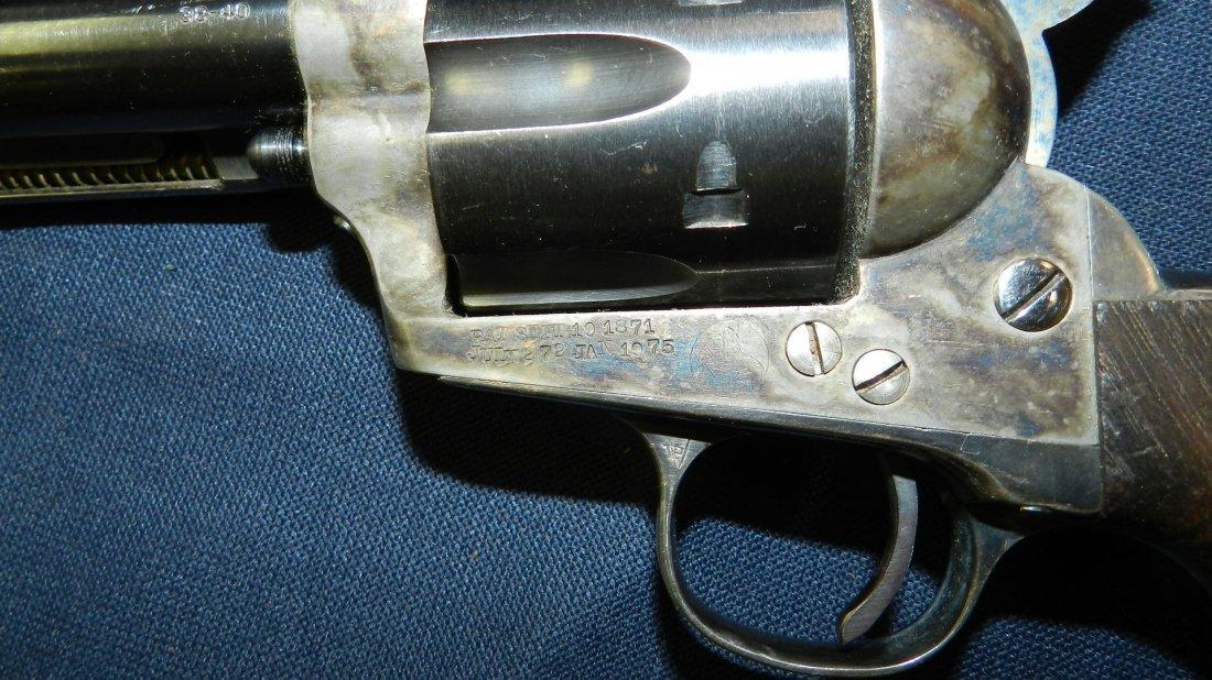 antique / vintage Colt? revolver 38-40, stamped with - 4