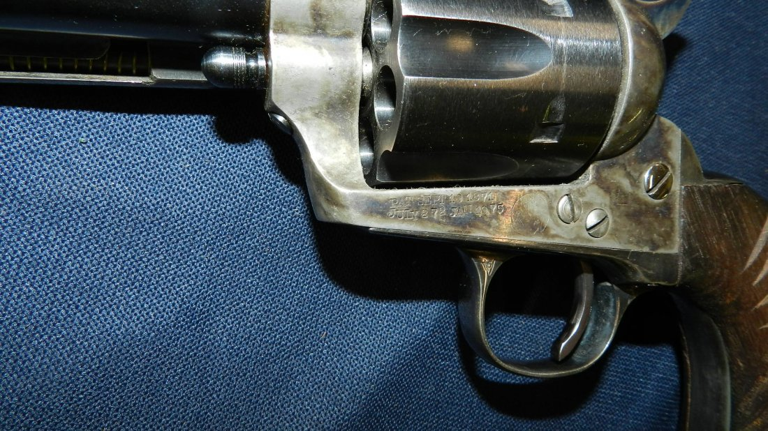 antique / vintage Colt? revolver 38-40, stamped with - 5