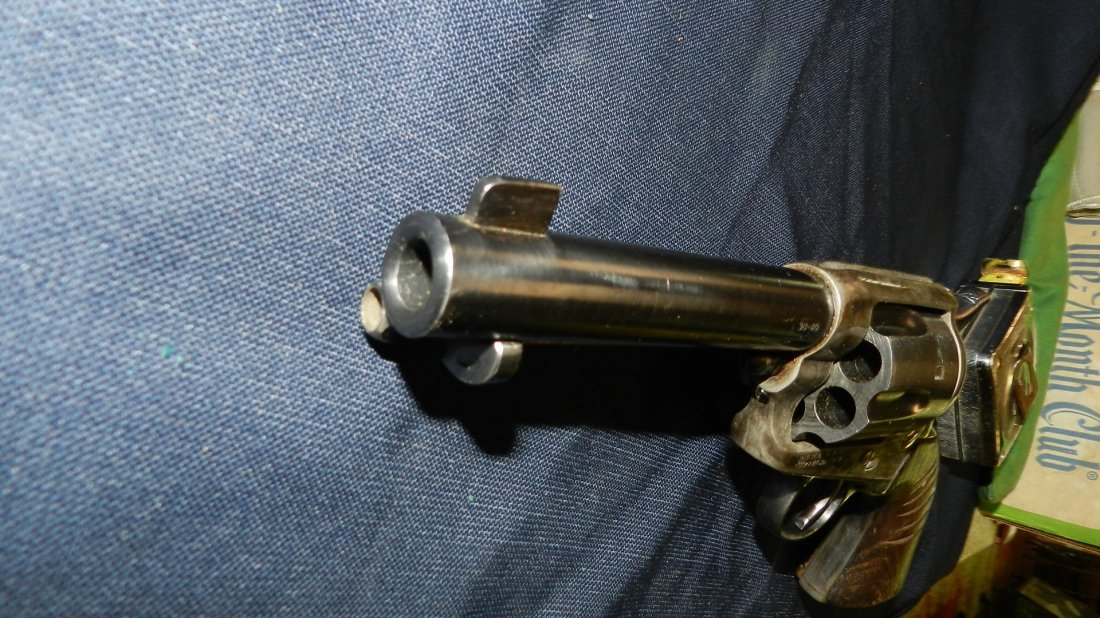 antique / vintage Colt? revolver 38-40, stamped with - 8