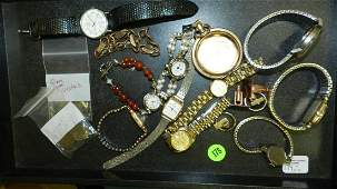 Nice collection of modern and vintage watches Gold