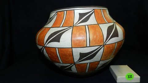 Wonderful, large, hand made and hand painted, original