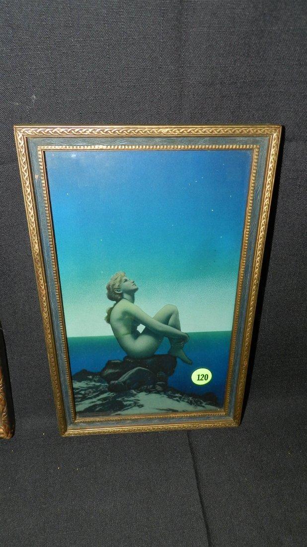 """Original Maxfield Parrish framed print titled """"Stars"""","""