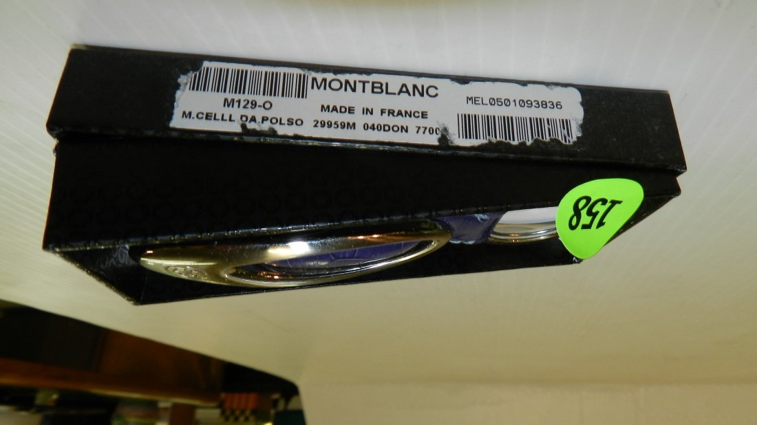 mint in box Mont Blanc key chain, made in France, comes - 2