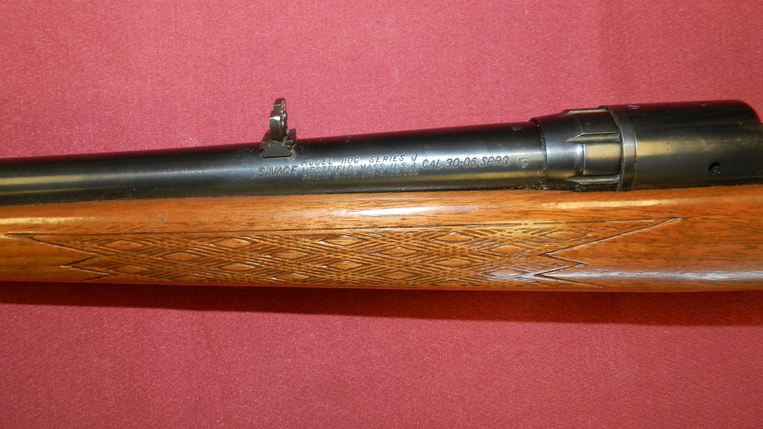 Nice Savage Model 110C series J, 30-06 bolt action - 7