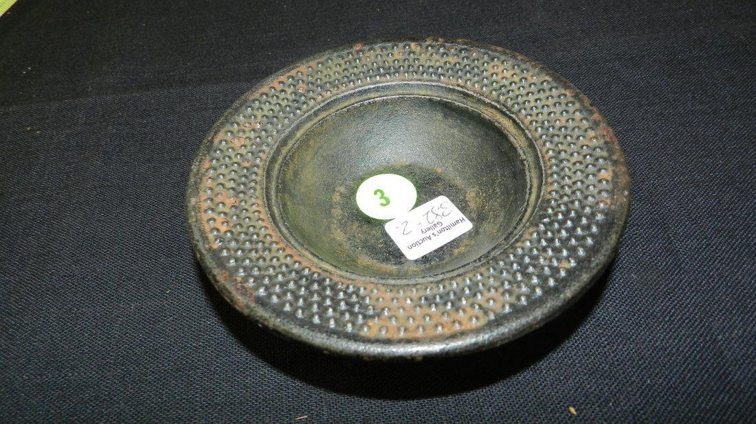 Nice Asian Bronze tea cup, cond VG
