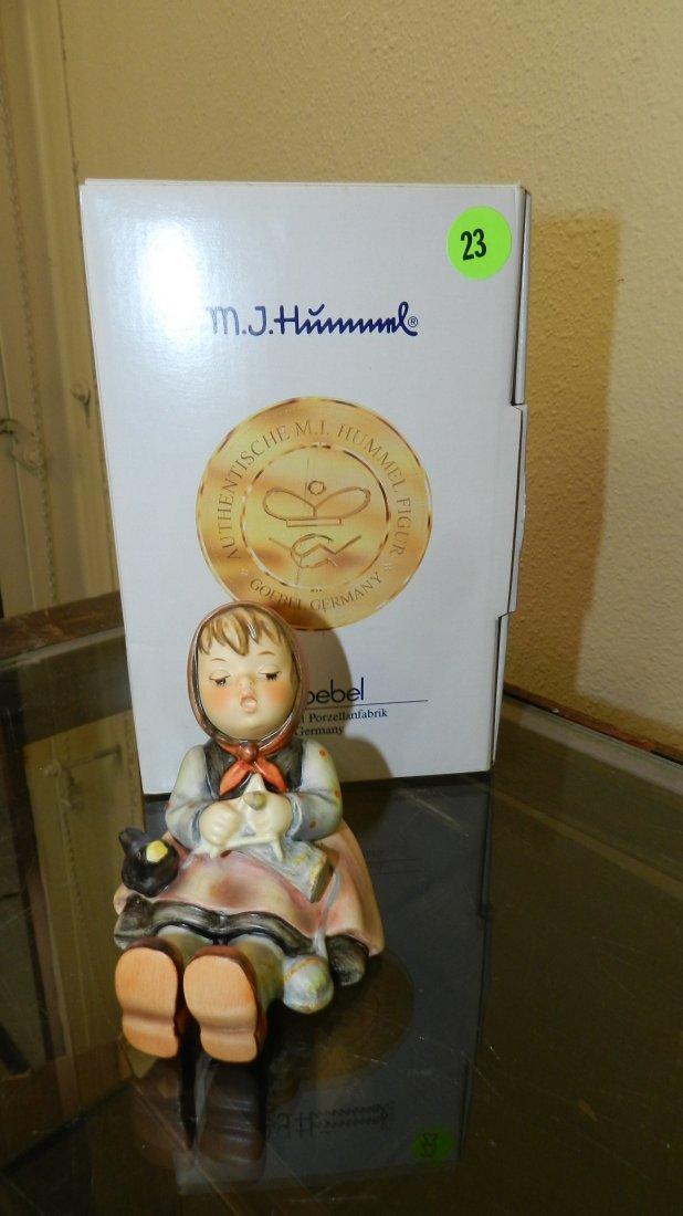 "Original M.I. Hummel figurine Mint in box ""Happy"