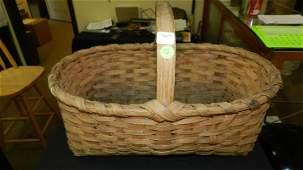 Antique split oak basket