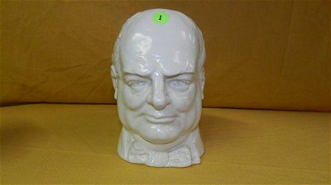 Rare! Winston Churchill Royal Doulton character jug,