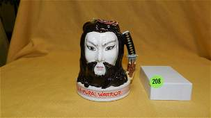 Royal Doulton character jug Samurai Warrior Jim Beam