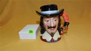 """Royal Doulton character jug """"King Charles I"""" D6985,"""