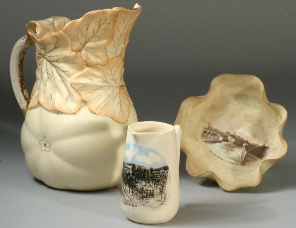 1035: 3 Piece Pottery Lot