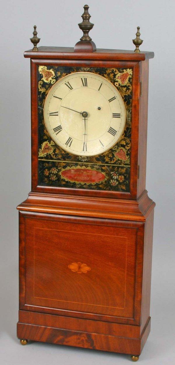 1040: Aaron Willard Shelf Clock