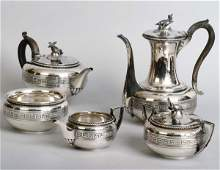 1256A: Tiffany & Co Tea Service circa 1860