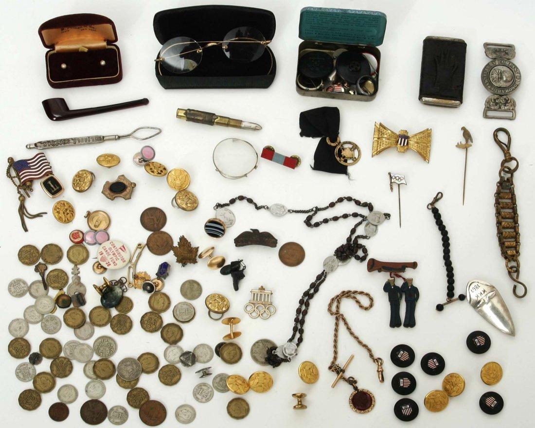 Late 19th/ 20th century men's jewelry